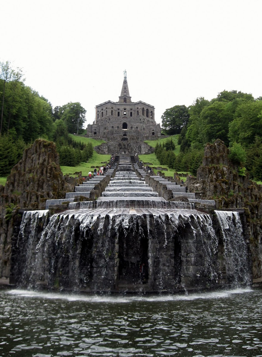 Cascades Of Hercules Monument, Kassel, Germany
