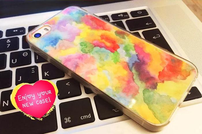 I Made A Rainbow Phone Case