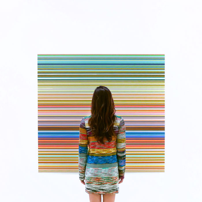 Gerhard Richter en SFMOMA En San Francisco, Ca