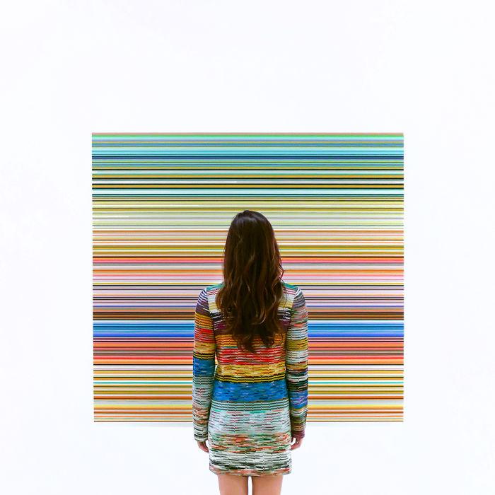 Gerhard Richter At Sfmoma In San Francisco, Ca