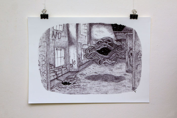 I Draw Old Dreams And Nightmares On The Streets Of Tel Aviv