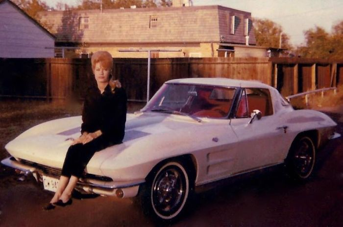 My Mom Bought A New '63 Corvette On Her Own At Age 20. She Owned Her Own Hair Salon In Midland, Tx.