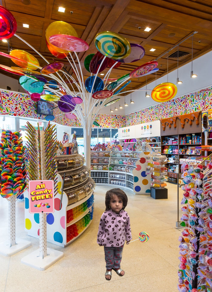 Kid In A Candy Store