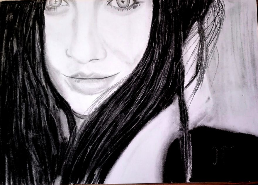 Some Ordinary Charcoal And Pencil Drawings...