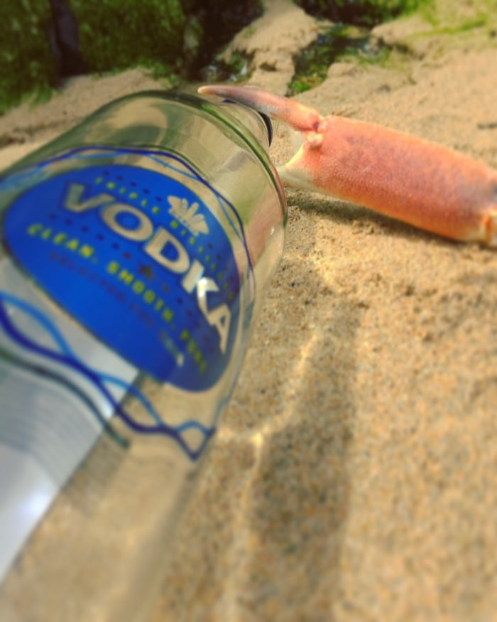 Crabnasty Is An Alcoholic