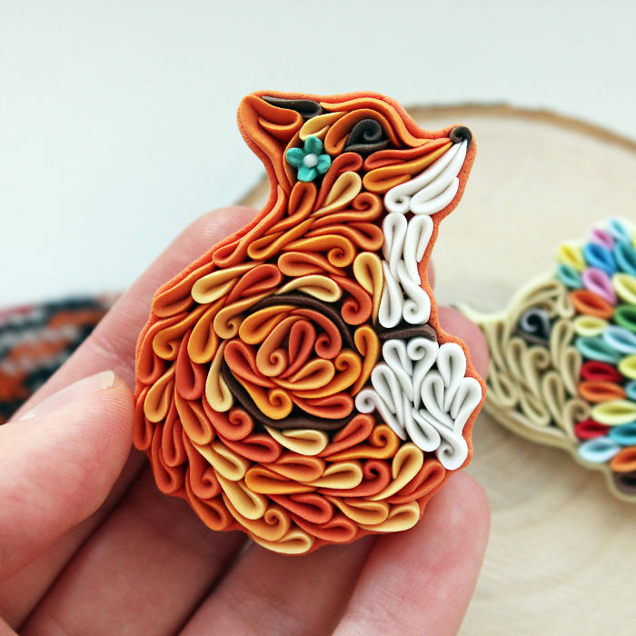 I Make Jewelry From Polymer Clay In Unusual Style