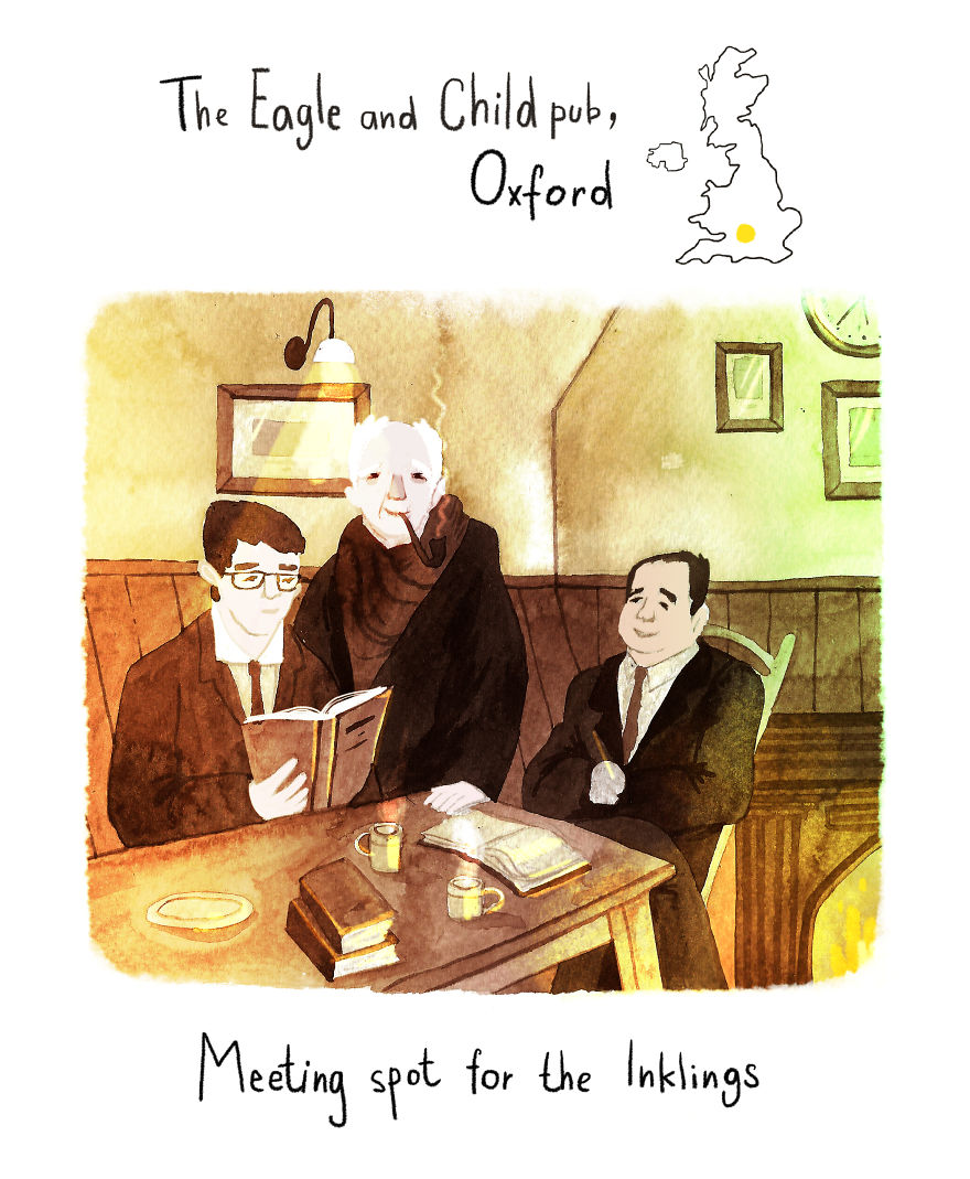 Oxford - The Meeting Place For The Inklings