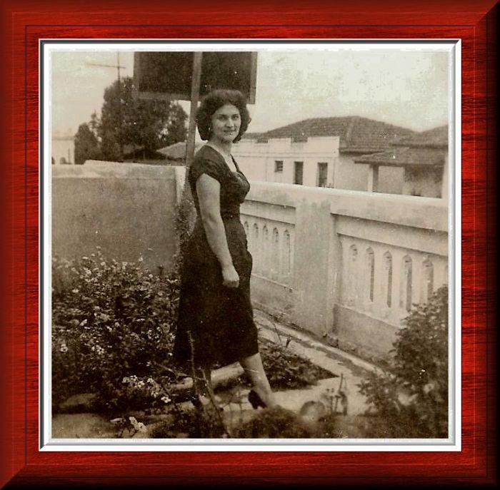 My Mom, 17 Year Age, 1949, São Paulo - Brazil