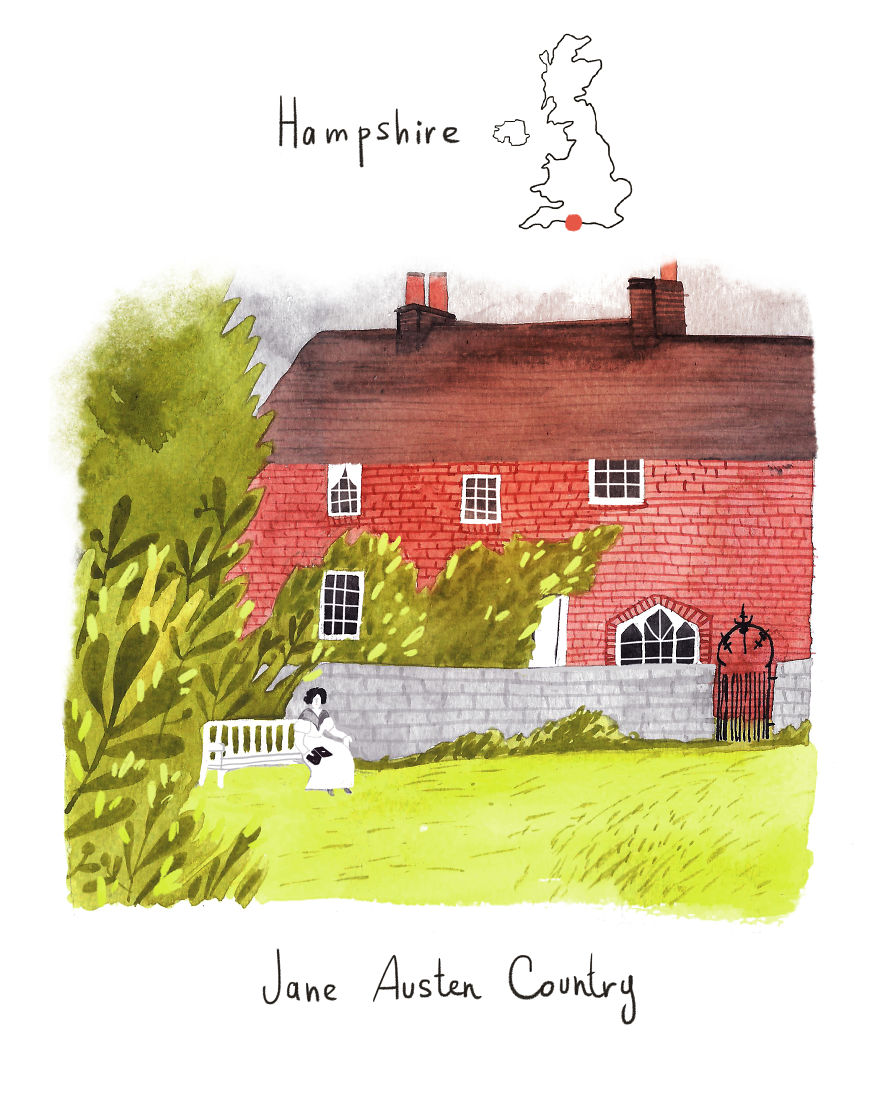 Hampshire - The Home Of Jane Austen