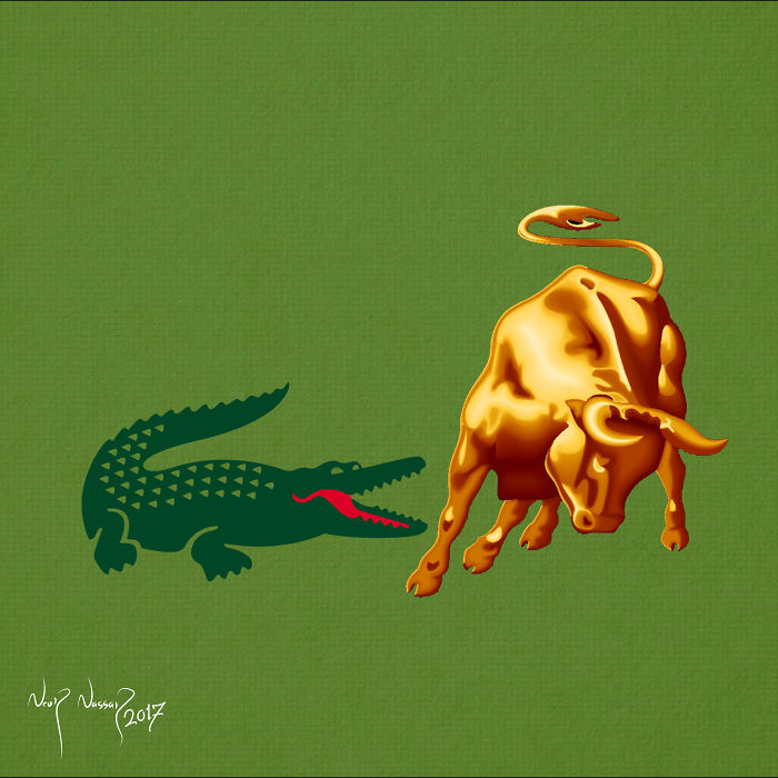Size Is Not A Sign Of Strength, That Is Clear In The Relationship Between Lacoste And Lamborghini