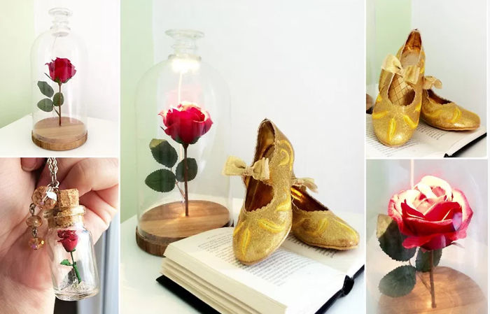 Learn How To Make A Beauty & The Beast Lamp