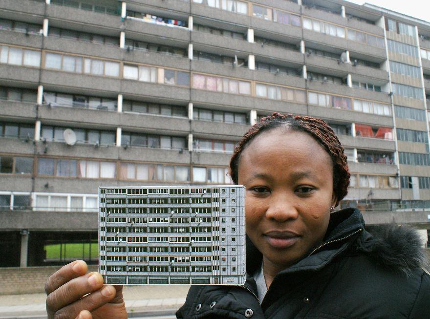 London. Aylesbury Estate. 2014. Currently Under Demolition