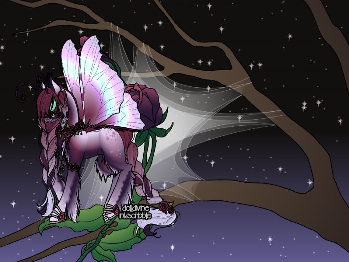 I Create Beautiful Moth Ponies On Doll Divine (Link In Description)