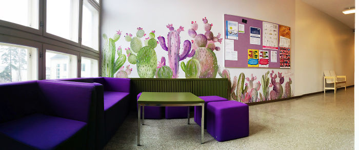 I Created The Cactus Oasis In A Finnish School