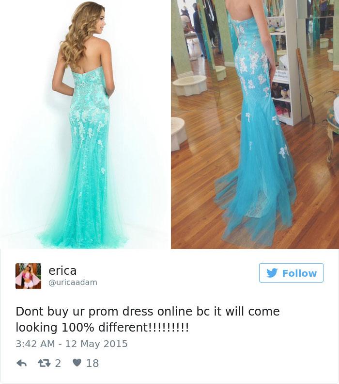 Prom Dress Online Fails