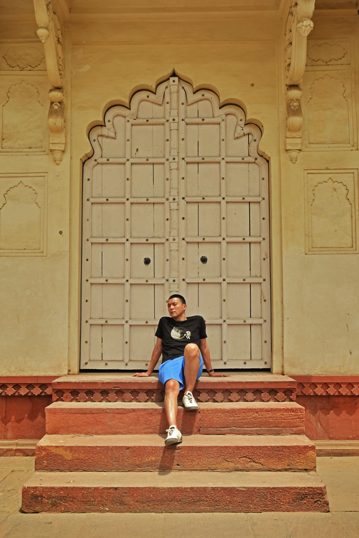 I Shoot A Malaysian Guy In India With Indian Architecture And Culture And Here Is Result