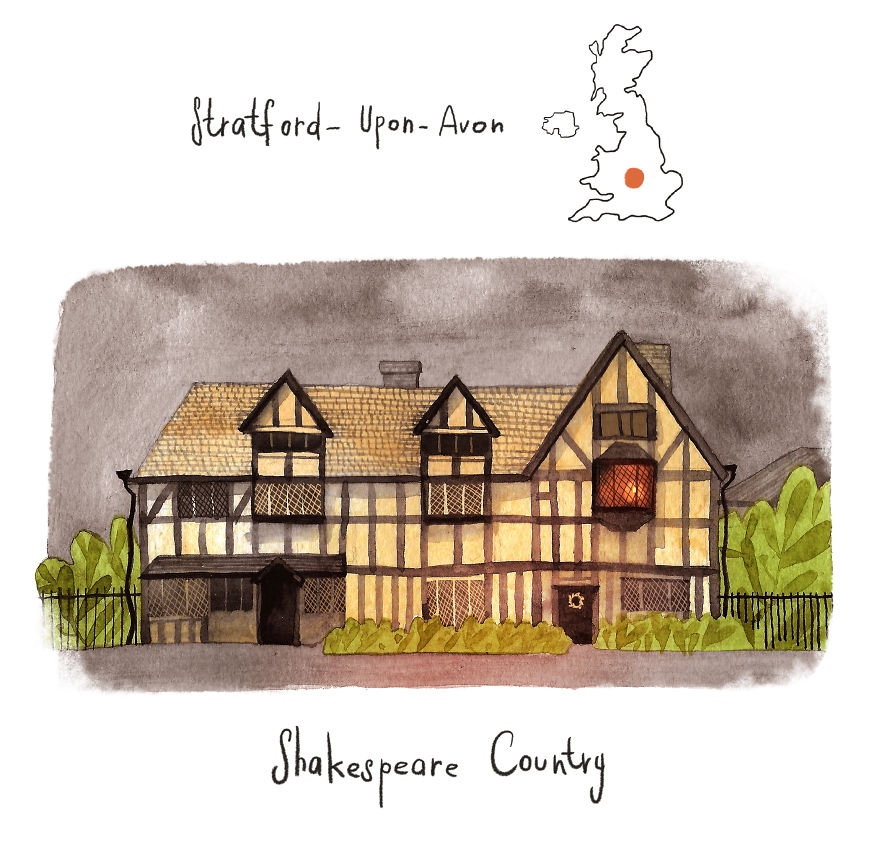 Stratford - The Birthplace Of Shakespeare