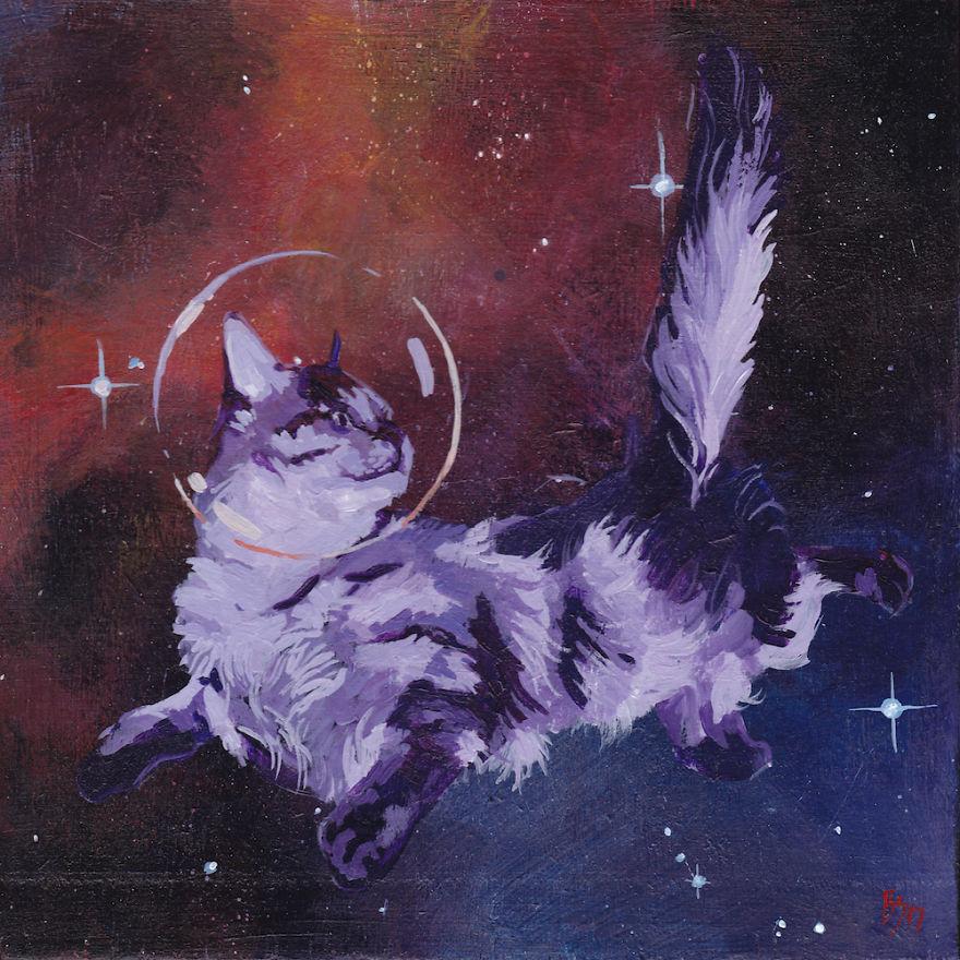 Space Cat Vi