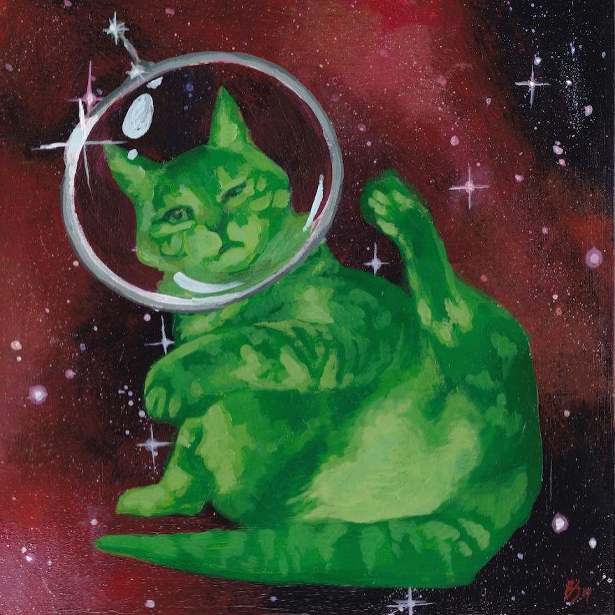 Space Cat Viii