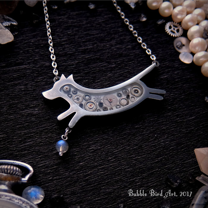 Steampunk Jewelry By Young Ukrainian Designer