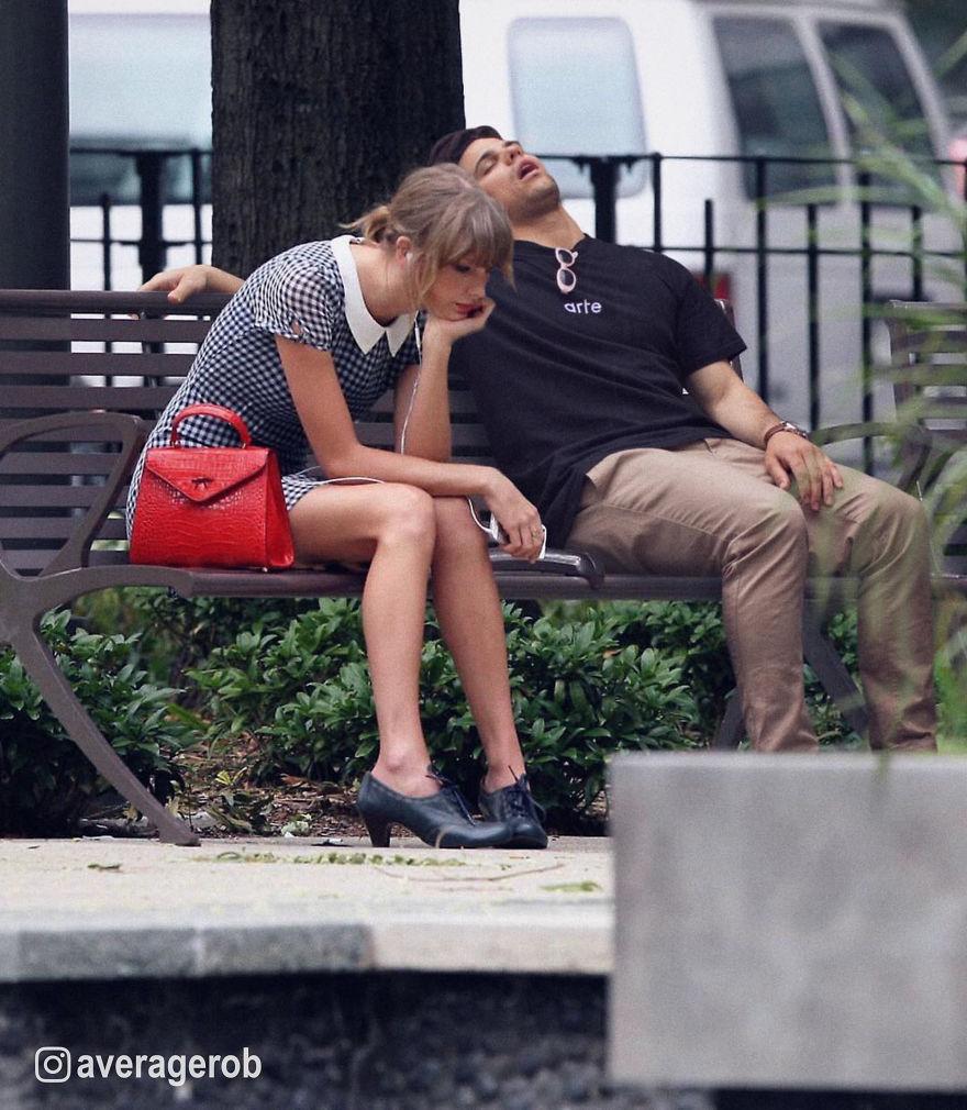 Sad Taylor Swift Waiting For Rob To Wake Up