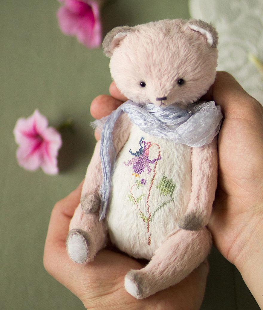 Teddymania: Cute Handmade Toys By Olga Belozerova