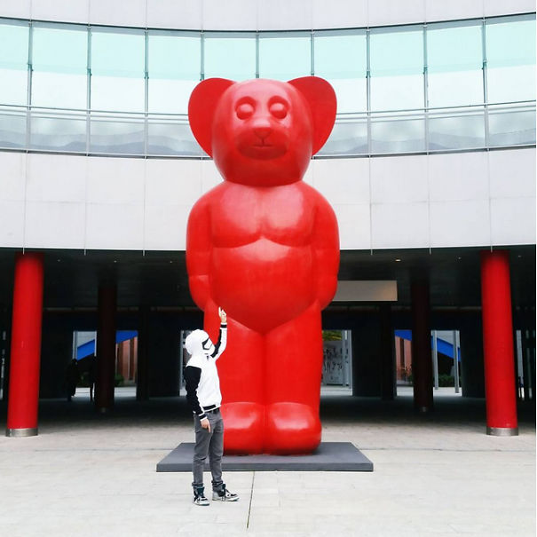 What Do You Think This Is? A Giant Ewok Sculpture Or What?