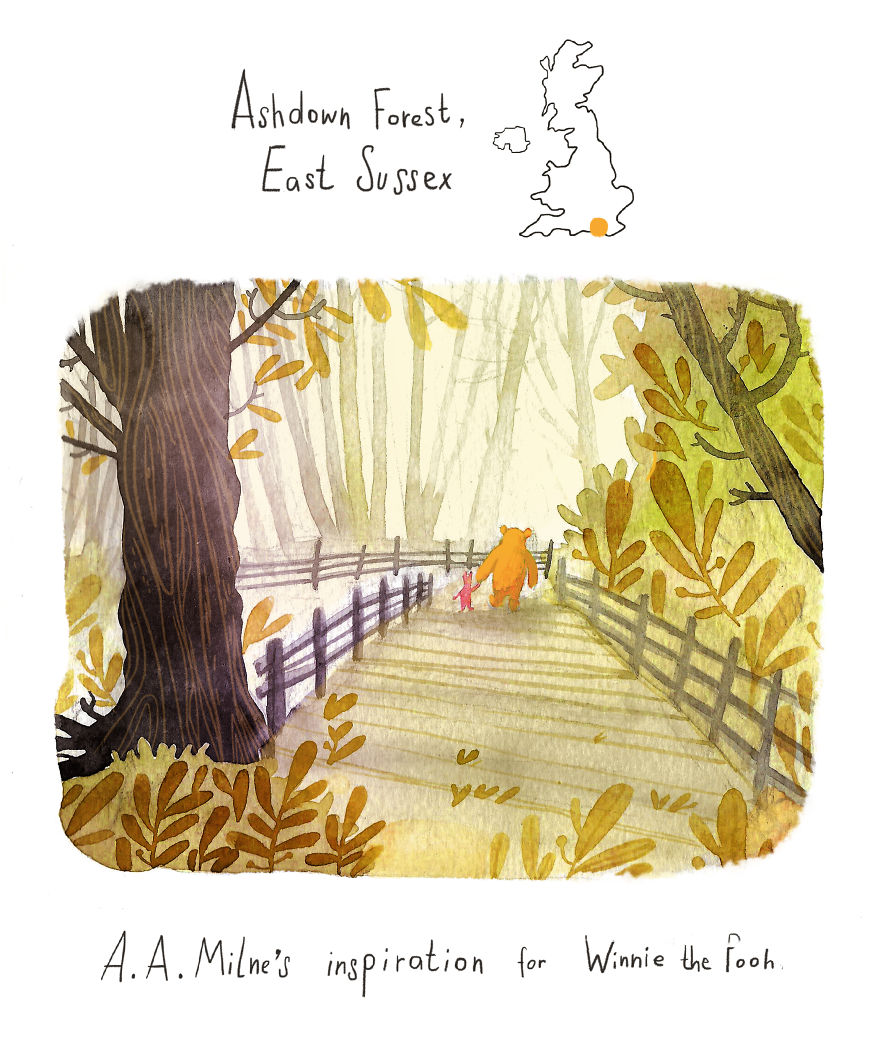 Ashdown Forest - The Inspiration For Winnie The Pooh