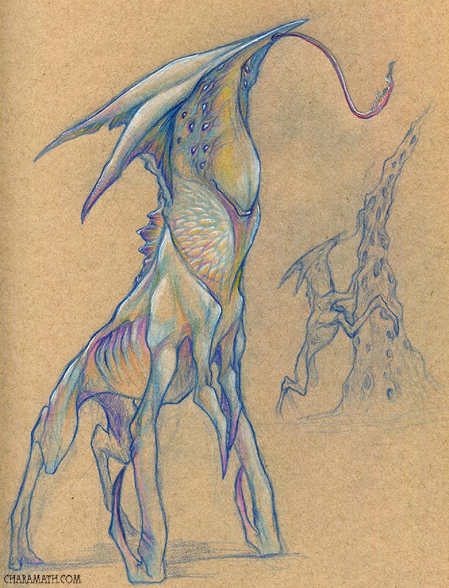'anteater Alien'