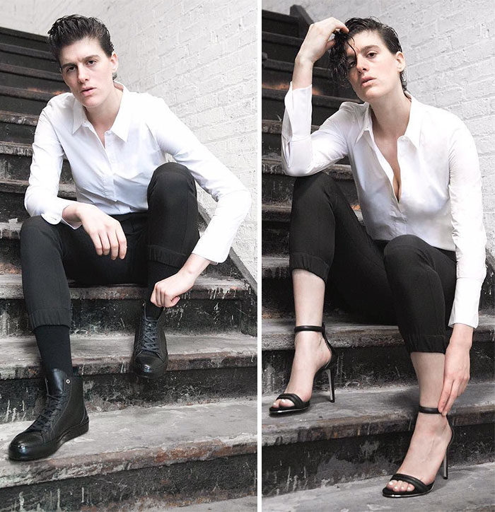 Androgynous look for guys