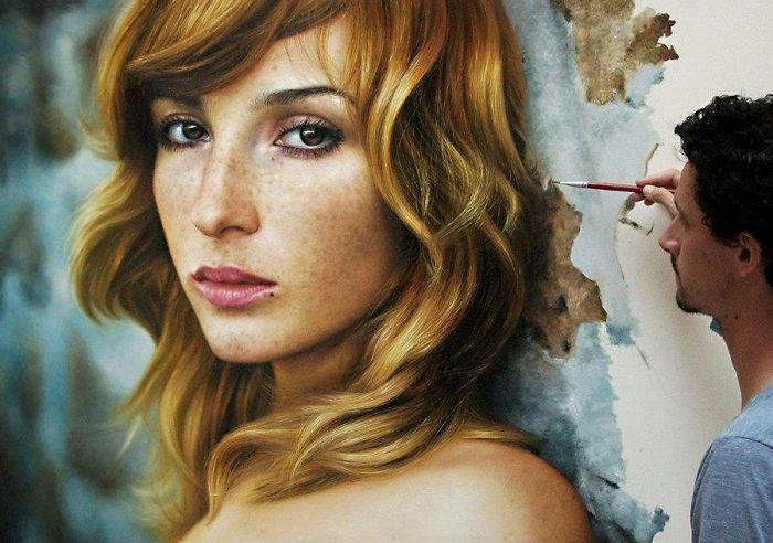 The Realistic Paintings By Fabiano Millani