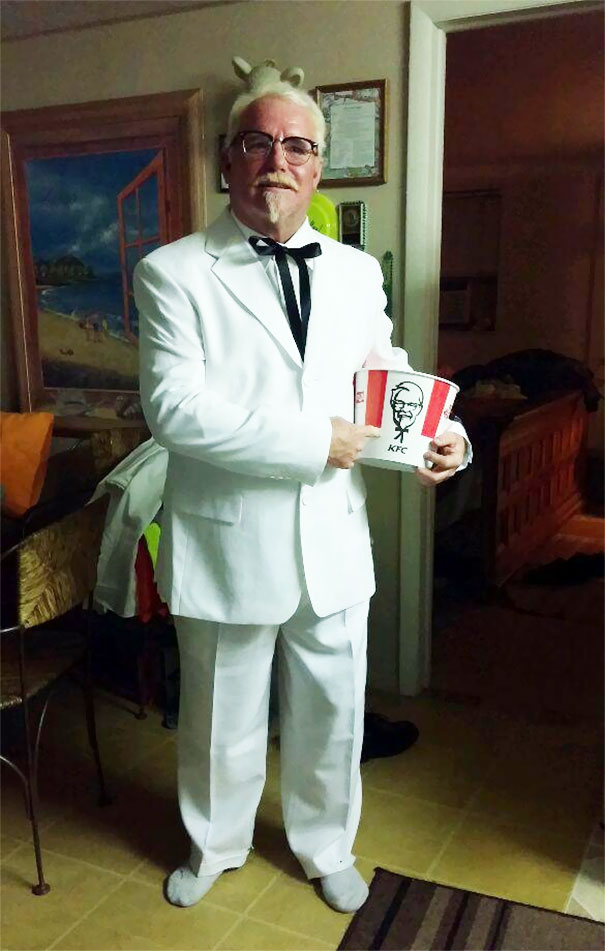 My Grandpa Thought You Guys Would Enjoy His Outfit For The Night