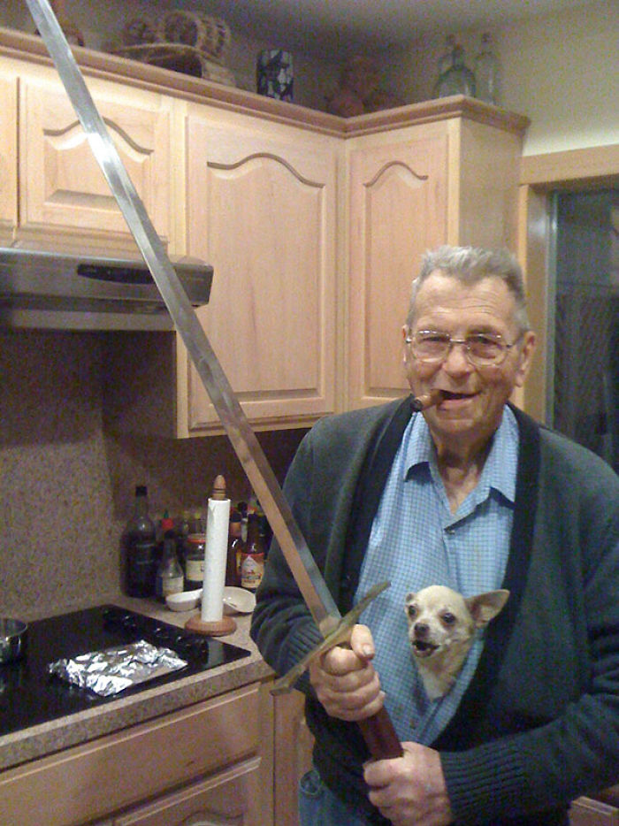 I See Your Badass Grandfather, And Raise You My Badass Grandpa