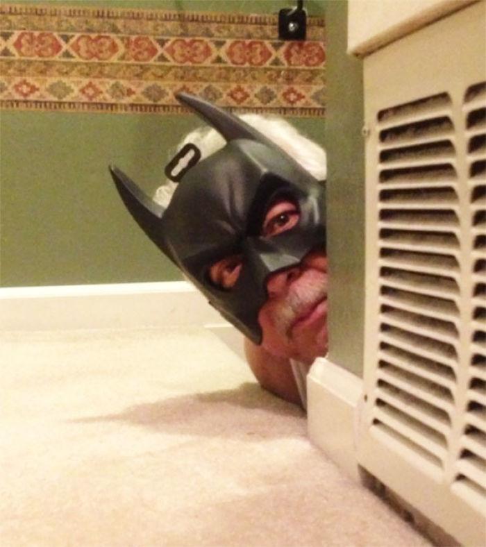 Mi abuelo tras ver la última película de Batman