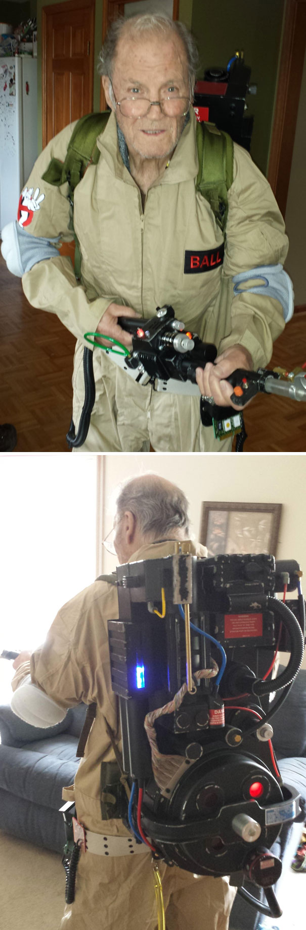 Bill Murray Said No One Wants To See Fat Old Guys Chase Ghosts. Grandpa Is Proving That Statement To Be False Yet Again