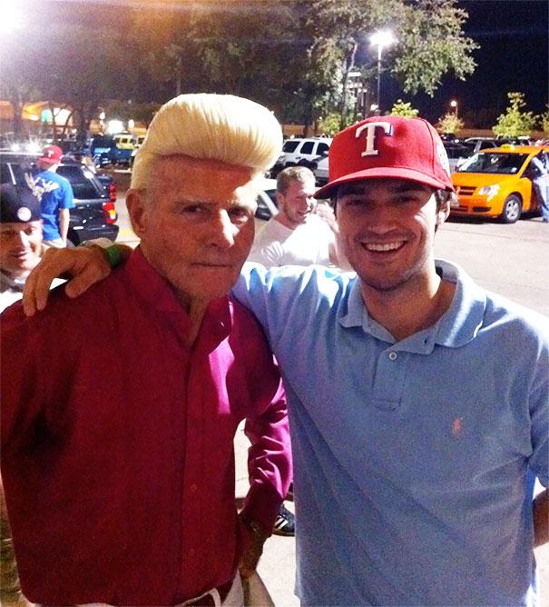 Met The Man Himself, Johhny Bravo's Grandpa