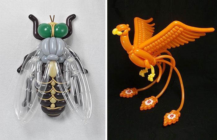 50 unglaubliche Ballontiere vom Japanischen Künstler Masayoshi Matsumoto