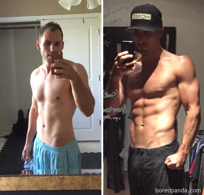 9 Month Transformation