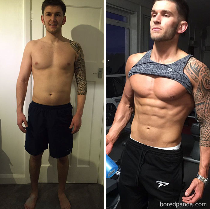 97 Unbelievable Before & After Fitness Transformations Show How Long