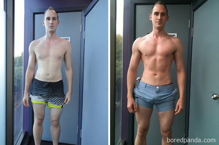 Lean Muscle Body Before And After #79 3 Months Training