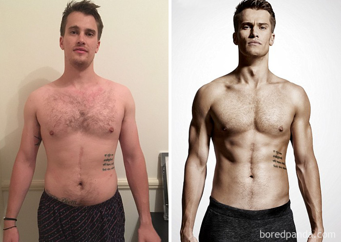 Tom Ward, Who Works At Men's Health Magazine, Transformed His Body In 2 Month And Appeared In The Pages Of The Same Magazine