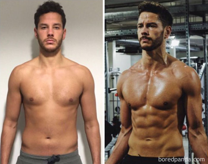 97 Unbelievable Before After Fitness Transformations Show How Long It Took People To Get In Shape Bored Panda