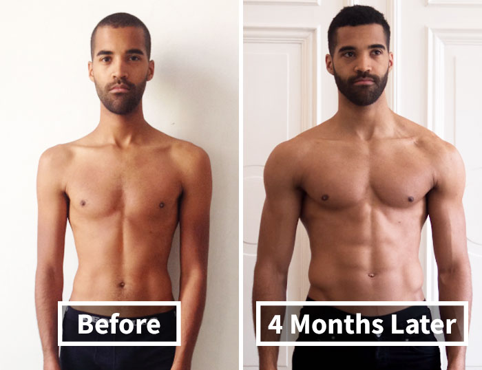 97 Unbelievable Before & After Fitness Transformations Show How Long It Took People To Get In Shape