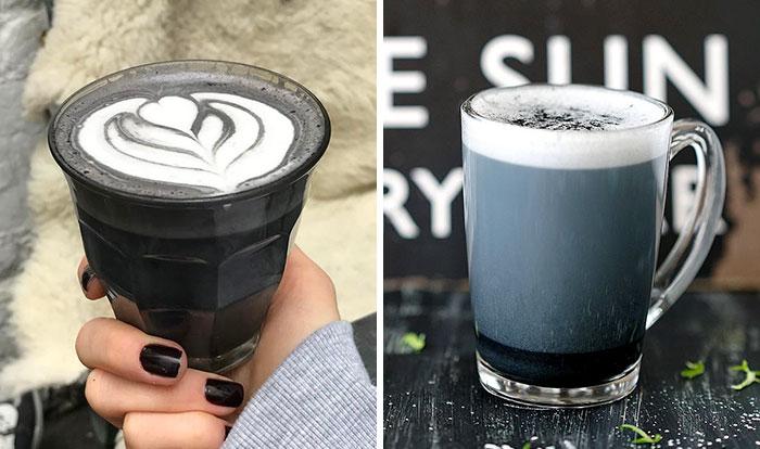Al fin existe el café latte gótico, tan oscuro como tu alma