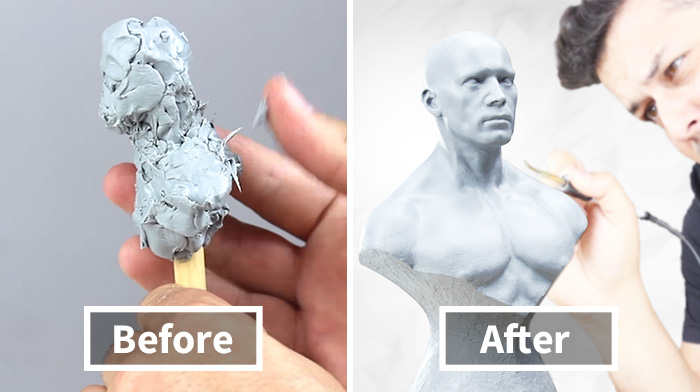 I Made A Sculpture Out Of Wax In 22 Hours