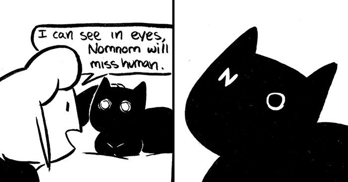 10+ Comics By Lulu VanHoagland That Purrfectly Capture Life With Cats