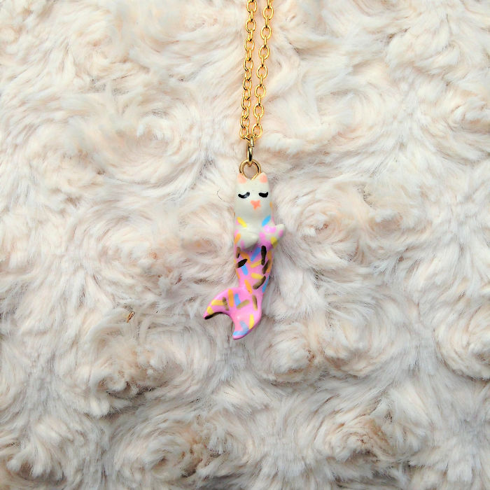 Purrmaid Necklaces