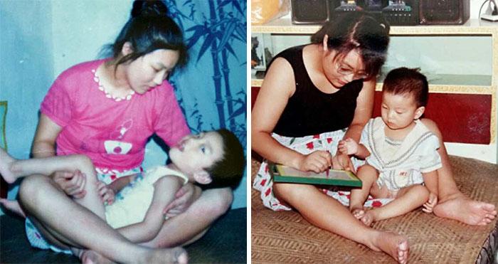 Esta madre se negó a rendirse con su hijo discapacitado y lo cuidó hasta que llegó a Harvard