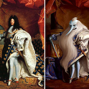 """A Portrait Of Louis Xiv"" By Hyacinthe Rigaud"