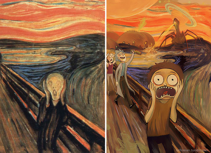 The Scream (of Nature) By Edvard Munch
